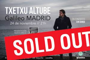 Sold out Madrid